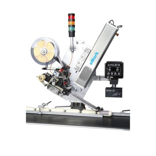 laser labeling machine / automatic / compact