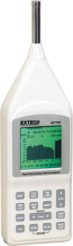 sound level meter with analysis function / class 2 / data logging / real-time