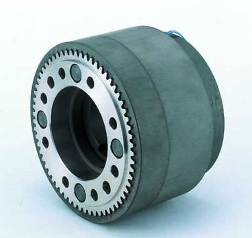 toothed clutch / electromagnetic / zero-backlash / for high-torque applications