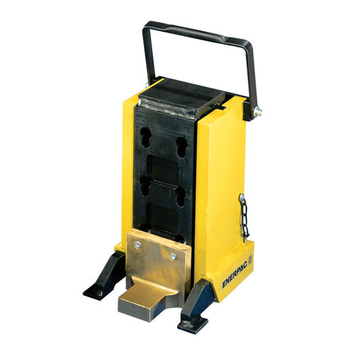 hydraulic jack / for heavy-duty applications / machinery toe / for lifting