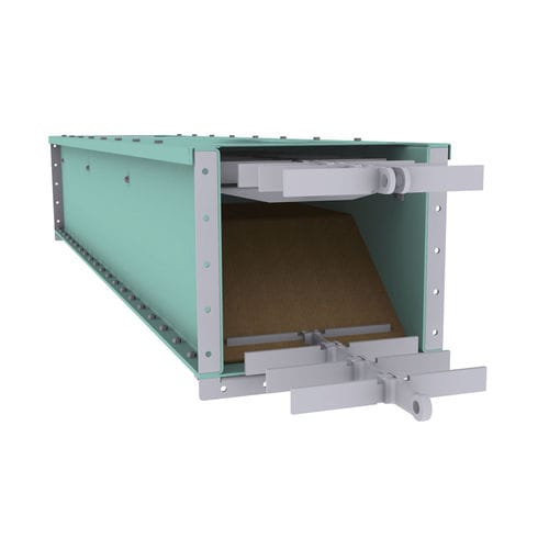 Chain conveyor / for bulk materials / automatic / enclosed MoveMaster® DC Schenck Process