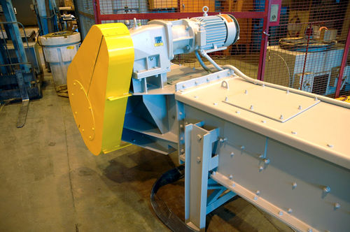 Chain conveyor / for bulk materials / automatic / enclosed MoveMaster® DC Schenck Process Europe GmbH