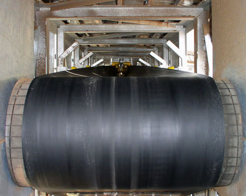 belt conveyor / horizontal / vertical / long-distance