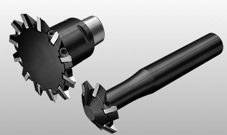 insert milling cutter / roughing / finishing / high-performance