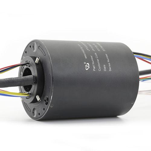 Electric slip ring / Ethernet / PROFIBUS / hollow-shaft 25mm Thru Bore 16XSignal+6X5A JINPAT Electronics Co., Ltd.