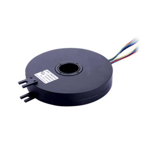 through-hole slip ring / flat / in plastic / PCB