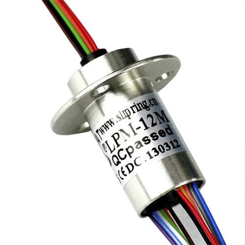 Electric slip ring / capsule / for LED lighting / 12 circuits LPM-12A JINPAT Electronics Co., Ltd.