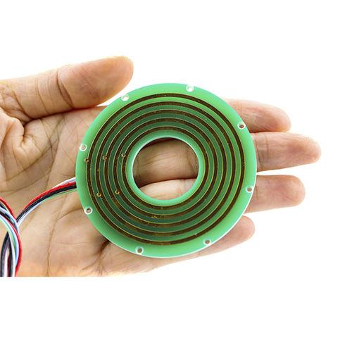 CAN bus slip ring / 2-part / flat / pancake type