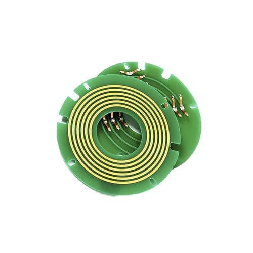 electric slip ring / USB / pancake type / compact