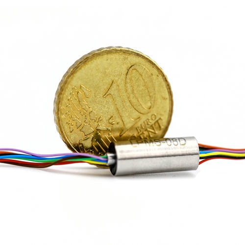 electro-optical slip ring / capsule / robotic / for UAVs