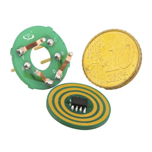 pancake type slip ring / custom / cost-effective