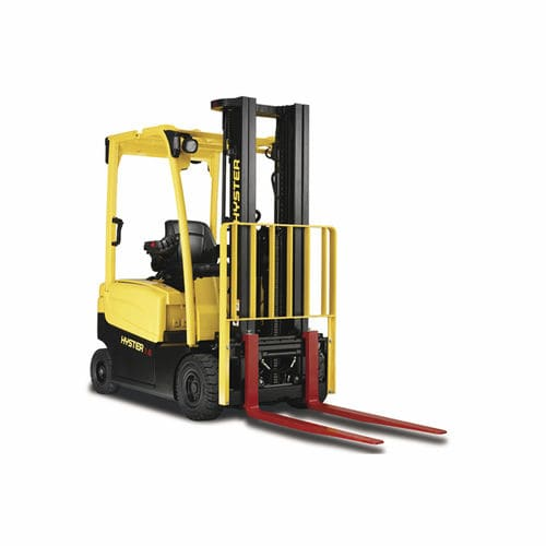 Electric forklift / ride-on / outdoor / 4-wheel JXN series HYSTER