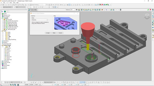 CAM software / 5-axis machining PowerMill® AUTODESK