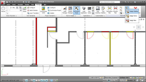 Design software / building / architecture AutoCAD® Architecture AUTODESK