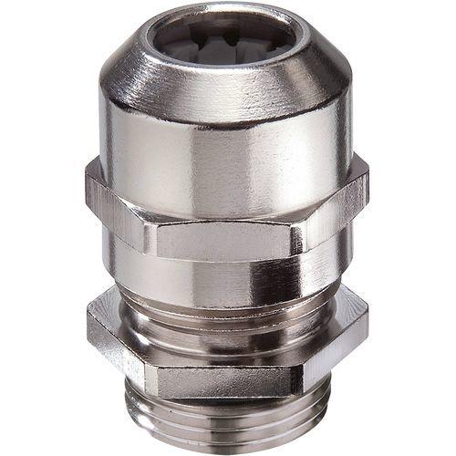Cable gland for railway applications / nickel-plated brass / IP68 / IP69 EMSKV RW series WISKA Hoppmann GmbH