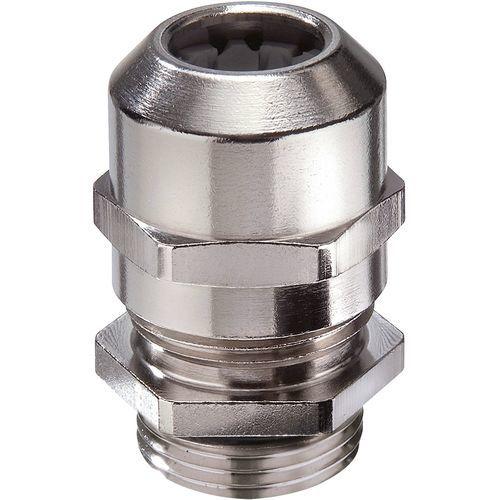 Cable gland for railway applications / nickel-plated brass / IP68 / IP69 EMSKV LT RW series WISKA Hoppmann GmbH