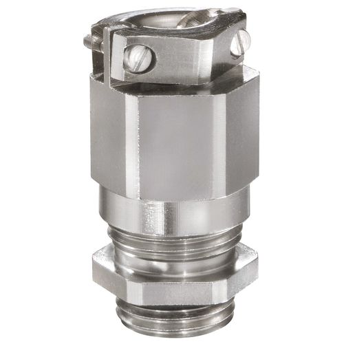 Explosion-proof cable gland / nickel-plated brass / IP68 / for hazardous areas EMSKEZ series WISKA