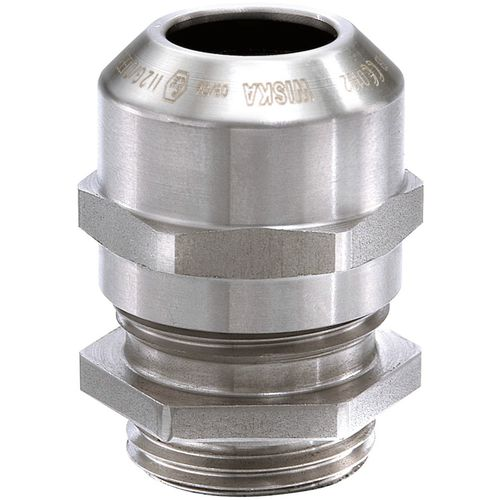 Explosion-proof cable gland / stainless steel / IP68 / IP66 ESSKE series WISKA