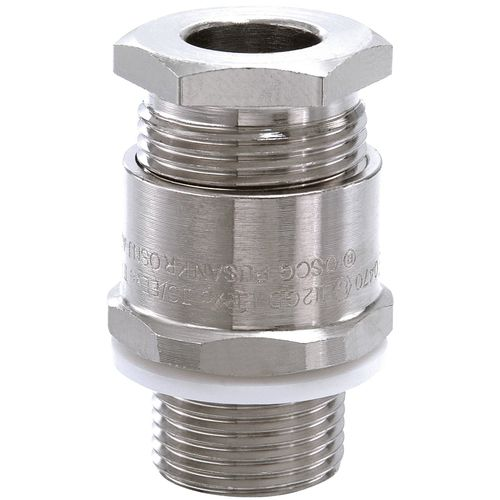 Non-armored cable cable gland / nickel-plated brass / IP67 / explosion-proof OSNJ A2F series WISKA Hoppmann GmbH