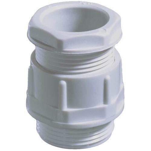 Polyamide cable gland / straight / threaded / halogen-free KVG series WISKA Hoppmann GmbH