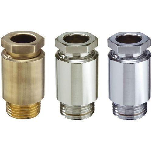 Brass cable gland / IP54 / straight / threaded KVM series WISKA Hoppmann GmbH
