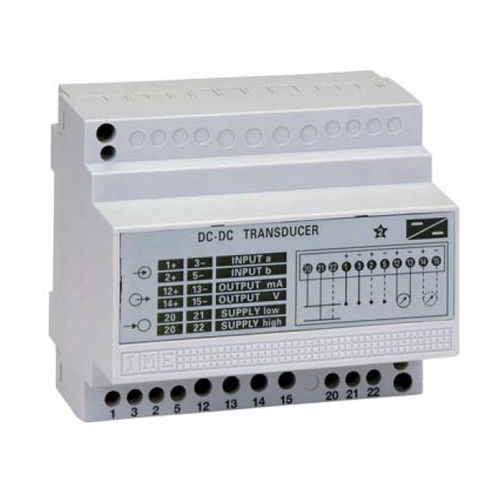 DC voltage transducer / DIN rail
