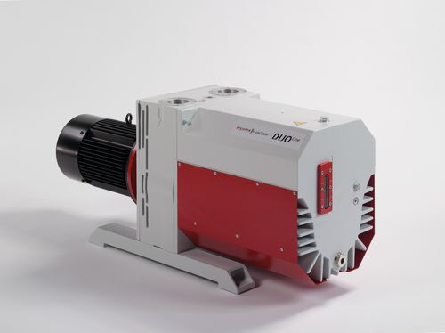 rotary vane vacuum pump / lubricated / two-stage / for laboratories