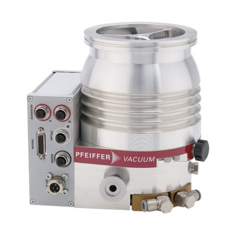 turbomolecular vacuum pump / oil-free / single-stage / compact
