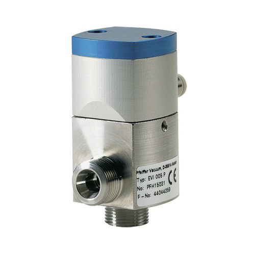 electropneumatic valve / pneumatically-operated / for air
