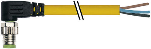 radio-frequency connector / USB / elbow / circular