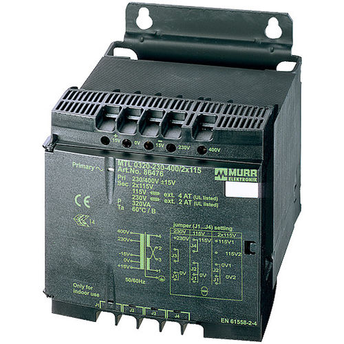 isolation transformer / encapsulated / safety / closed