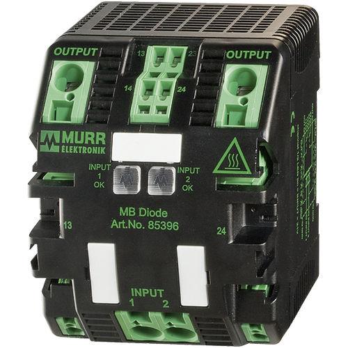 DC power supply redundancy module
