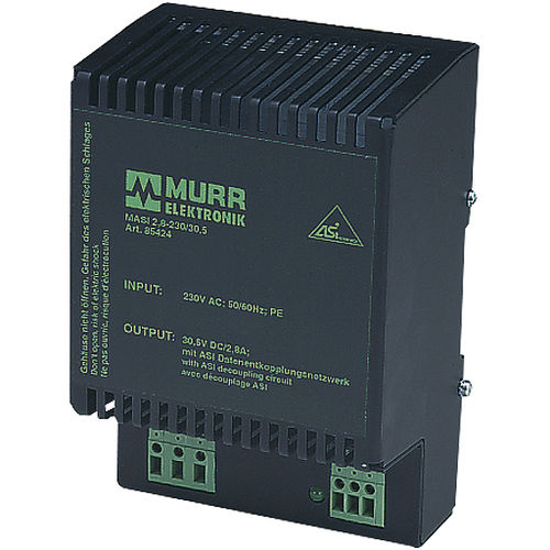 AC/DC power supply / DIN rail / with overcurrent protection / for AS interfaces
