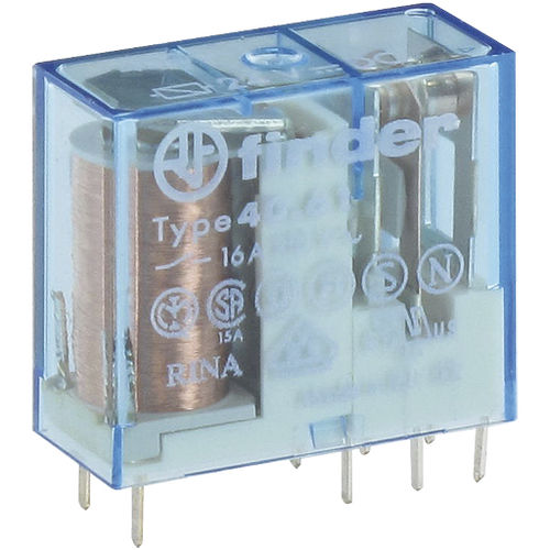 24VDC electromechanical relay / 110VDC / 110VAC / 1 NO/NC