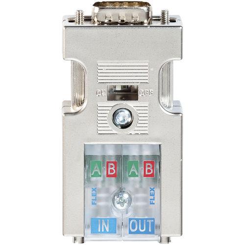 RF connector / D-sub / screw / metal