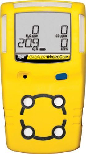 Gas detector / multi-gas / portable GasAlertMicroClip BW Technologies