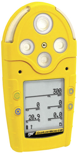 Gas detector / carbon dioxide / infrared / portable  GasAlertMicro 5 IR BW Technologies