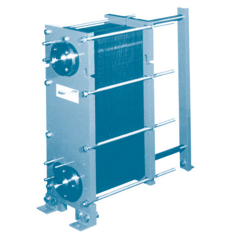 plate heat exchanger / liquid/liquid / compact / high-pressure
