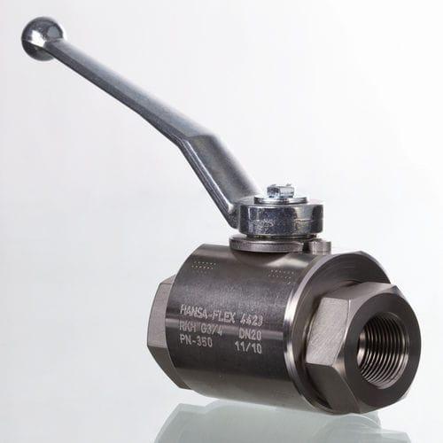 ball valve / manual / control / screw-in