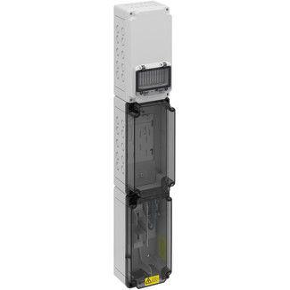 wall-mount enclosure / compact / rectangular / polycarbonate