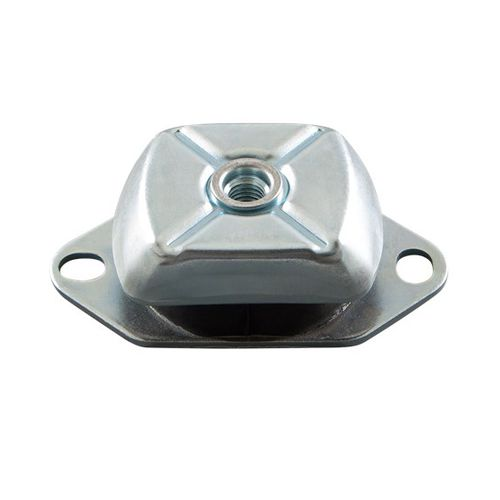conical anti-vibration mount / zinc-plated steel / for pumps / for compressors