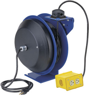 Cable reel / self-retracting / fixed / heavy-duty PC series Coxreels