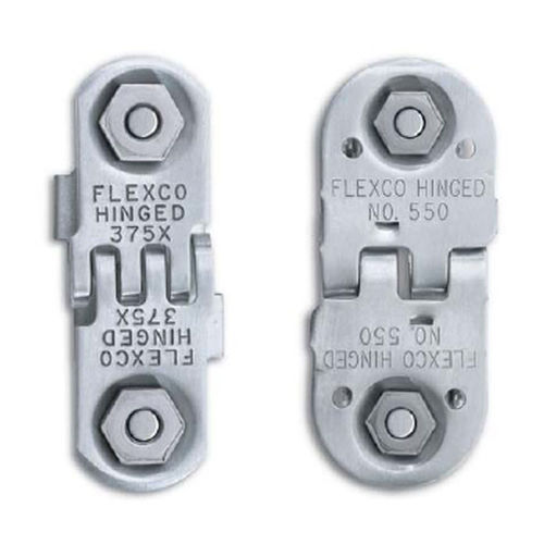 Bolt hinged conveyor belt fastener FLEXCO