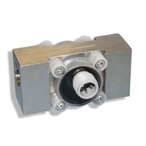 turbine flow meter / for corrosive fluids / in-line