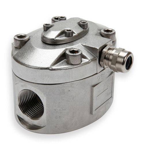 Oval gear flow meter / for water / in-line OG5  Titan Enterprises