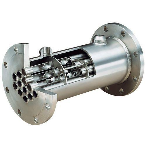 multi-tube heat exchanger / liquid/liquid / gas/liquid / for the plastics industry