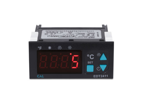 electronic thermostat / compact / with digital display / anti-frost