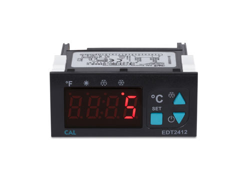 electronic thermostat / compact / anti-frost / with digital display