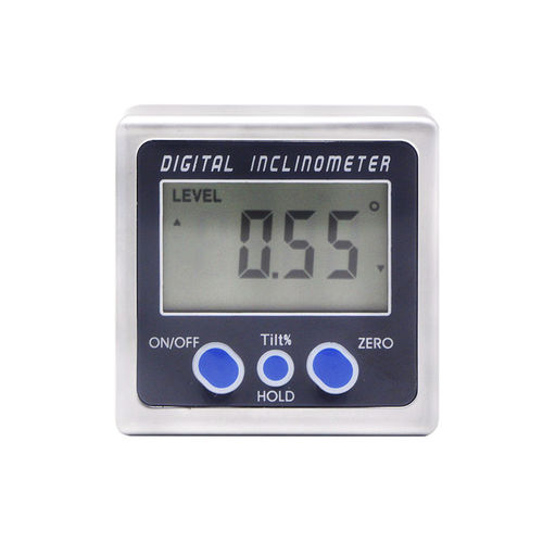 Digital inclinometer / with LCD display / for angle measurement SHAHE/5415-90 4*90° 0.05° ±0.2°/Digital Inclinometer Wenzhou Sanhe Measuring Instrument Co., Ltd