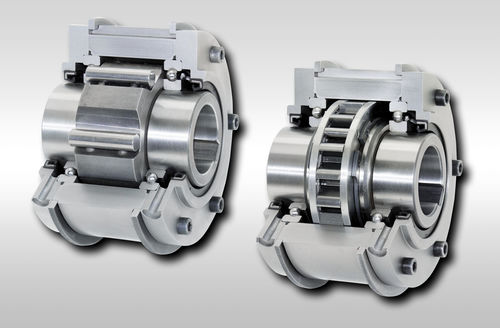 Full-face one-way clutch / with internal bearings / backstop BM series RINGSPANN